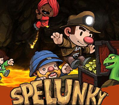 ترینر بازی Spelunky
