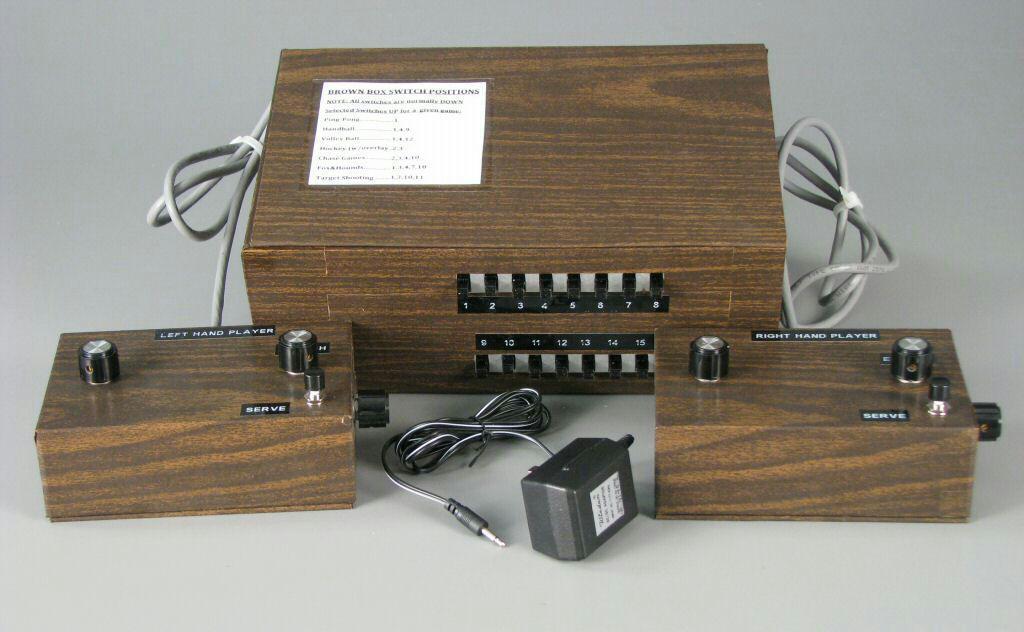 طرح اولیه کنسول بازی Brown Box ساختهی رالف بائر