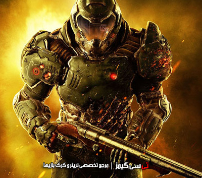دانلود کرک سالم بازی Doom 2016