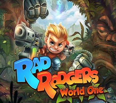 دانلود ترینر سالم بازی Rad Rodgers World One