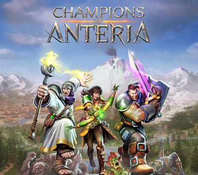 دانلود کرک سالم بازی Champions of Anteria