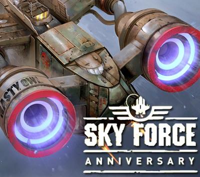 دانلود ترینر جدید بازی Sky Force Anniversary