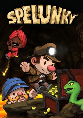 دانلود کرک بازی Spelunky HD با لینک مستقیم