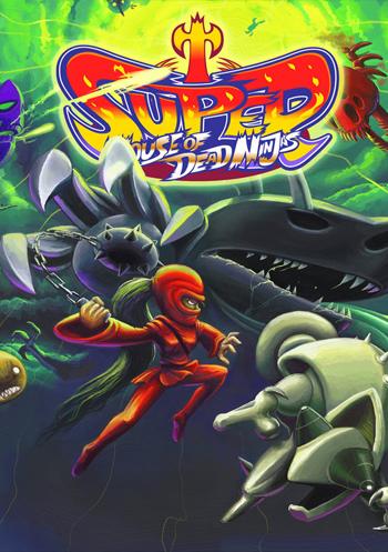 دانلود کرک سالم بازی Super House of Dead Ninjas