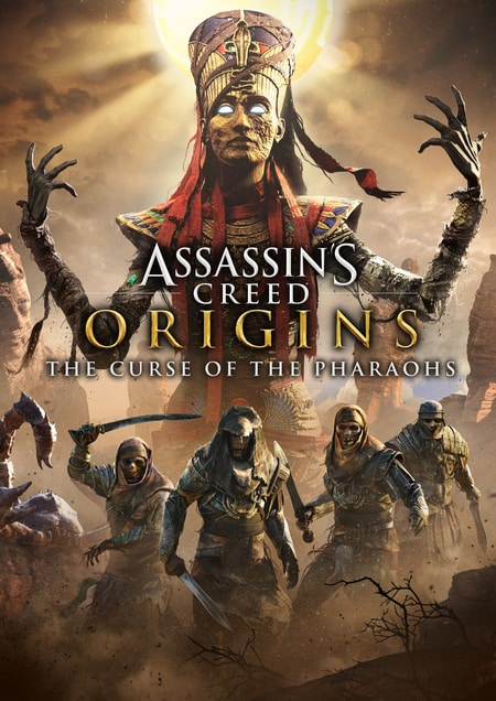 دانلود کرک بازی Assassins Creed Origins The Curse of the Pharaohs