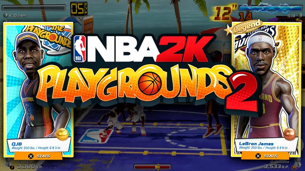 ترینر بازی NBA 2K Playgrounds 2