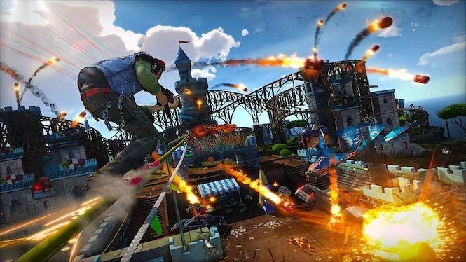 ترینر بازی Sunset Overdrive