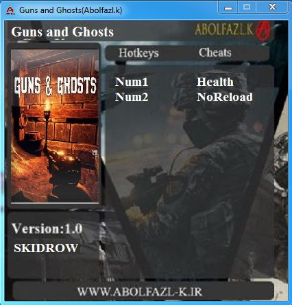 Guns and Ghosts V1.0 Plus 2 Trainer 64 Abolfazl.k