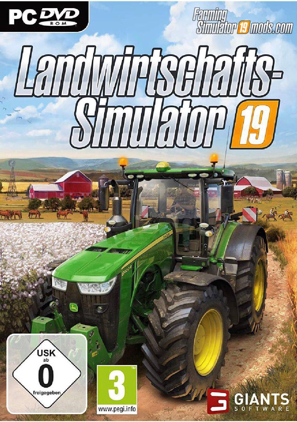 دانلود ترینر بازی Farming Simulator 19